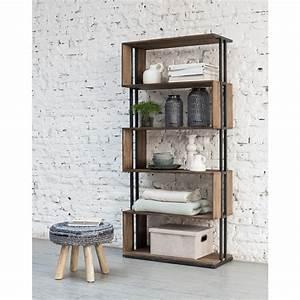 Bücherregal Metall Holz : regal industrie b cherregal metall holz breite 81 cm ~ Sanjose-hotels-ca.com Haus und Dekorationen