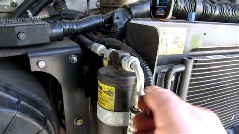 work truck air conditioning  refrigerant added
