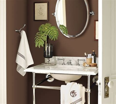 apothecary single sink console bathroom idea from pottery