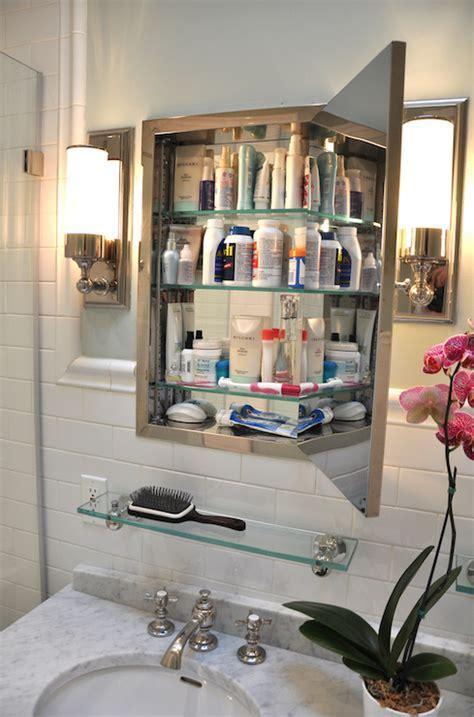 Inset Medicine Cabinet   Traditional   bathroom   Benjamin