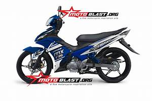 Modif Striping New Jupiter Mx 135 2014 Blue