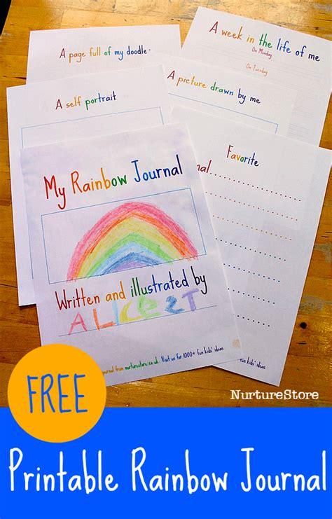 rainbow themed printables  crafts homeschool