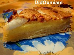 Recette Tarte Citron Meringuée Facile : recette de tarte au citron meringu e par didoumiam ~ Nature-et-papiers.com Idées de Décoration