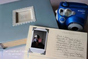guestbook for wedding the creative cubby polaroid wedding guest book