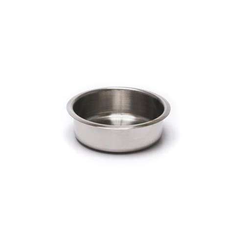 Stainless Steel Shallow Drop In Drink Holder  Casino Supply