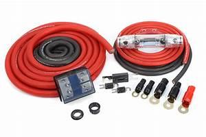 Kolossus Fleks 0 Gauge Dual Amp Power Kit