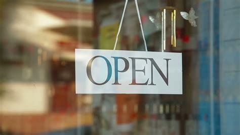 Store Is Closed Stock Footage Video 2867827