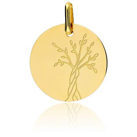 m 233 daille arbre de vie or jaune 9k lucas lucor ocarat