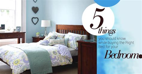 5 Things You Should Know While Buying The Right Bed For