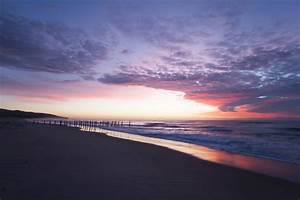 Photo Collection Purple Beach Sunrise