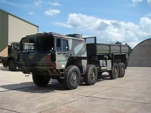 MAN 464 8x8 Drop Side Cargo Truck side loader for sale Ex ...