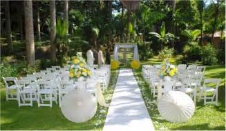 garden wedding simple and unique outdoor wedding ideas club