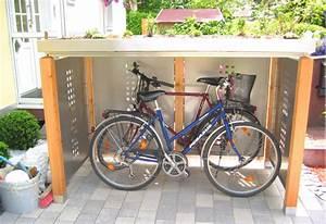Fahrradbox Für 2 Fahrräder : holz stahlblech fahrradunterstand f r 2 fahrr der ~ Whattoseeinmadrid.com Haus und Dekorationen