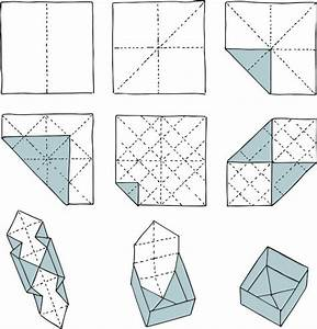 Quadratische Schachtel Falten : origami schachtel papier pinterest schachtel falten origami schachteln und schachtel ~ Eleganceandgraceweddings.com Haus und Dekorationen