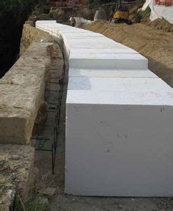 foam concrete forms for retaining walls a solid solution for retaining walls civil structural