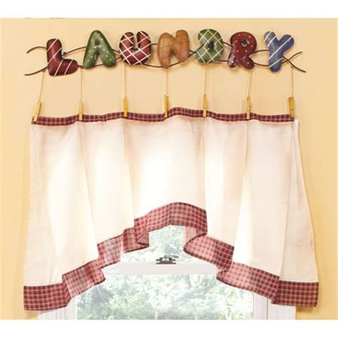 Laundry Room Valance  Room Ornament