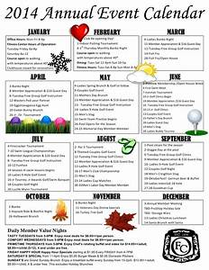 best photos of yearly event schedule template event With annual event calendar template