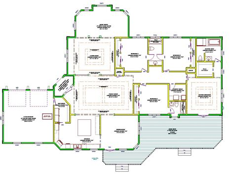 open one story house plans single story house plans single story open floor plans