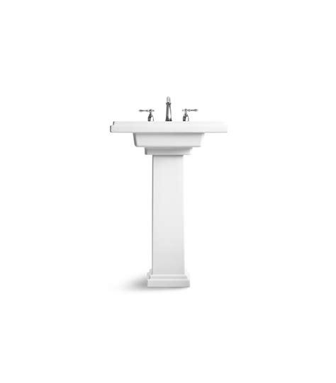 Kohler Tresham Pedestal Sink Specs by Kohler K 2844 8 0 Tresham 24 Inch Pedestal