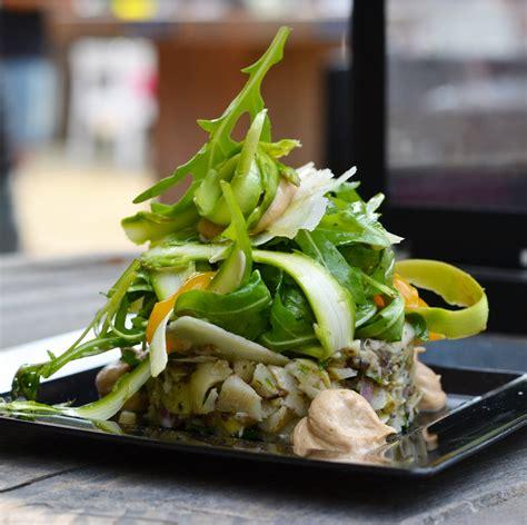 tartare cuisine vegetarian food at taste of amsterdam travel foodie