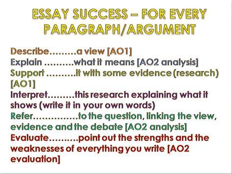 aqa essay writing