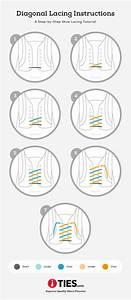 Diagonal Shoe Lacing Tutorial