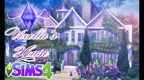The Sims 4 House Building Vixellas Home Youtube