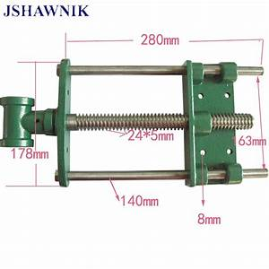 7 U0026quot Jaw Wide Hand Screw Clip Guide Bar Woodworking Clamp