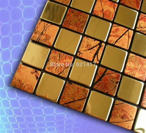 self adhesive mosaic tiles aliexpress buy aluminum composite panel stainless