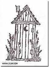 Outhouse Drawings Pallet Painting Line Patterns Google Houses Wood Burning Outhouses Coloring Easy Outline Tole Sketch Pebble Scrapbooking Template Silhouette sketch template