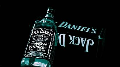 Daniels Jack Alkohol Whisky Flasche Glas Hintergrundbilder