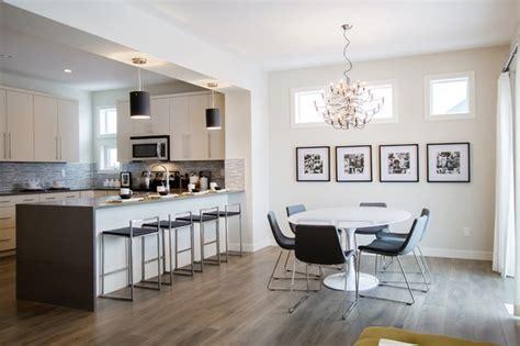 modern kitchen dining room design nfid modern modern dining room calgary by natalie 9229