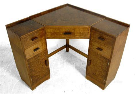 vintage corner desk deco corner desk in maple c1930 antiques atlas