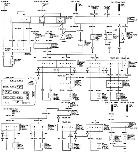 1988 Ranger Instrument Cluster Wiring Diagram Pinout The by 2001 Hyundai Xg300 3 0l Fi 6cyl Repair Guides Wiring