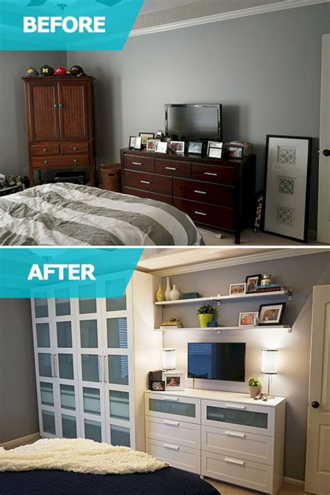 bedroom storage ideas  small room spaces