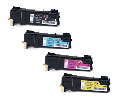 Rd Paket Toner paket med 4st milj 246 toner till xerox 6125 eko print