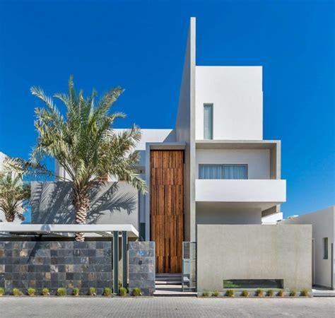 agencement cuisine ouverte sejour maison d architecte dans une banlieue chic au bahreïn