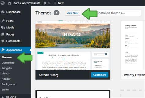 start  wordpress blog      easy