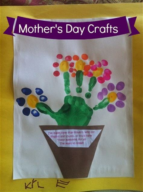 mothers day crafts search results for flower pot handprint poem mothers day calendar 2015