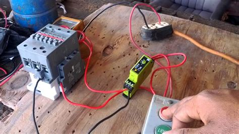 How Wire Timer Control Circuit Youtube