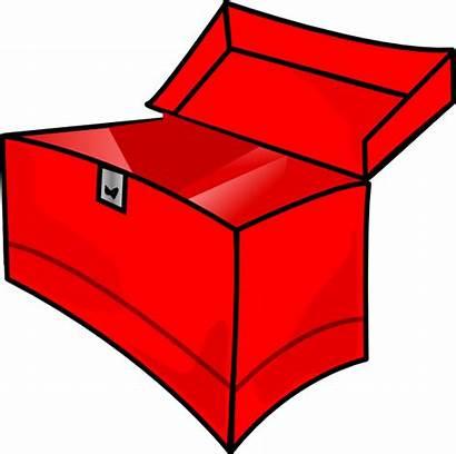 Empty Toolbox Clip Clipart Clker Royalty Domain