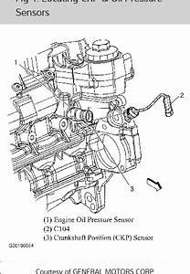 Crank Shaft Sensor  Where Is It On My 2003 Chevy Cavalier