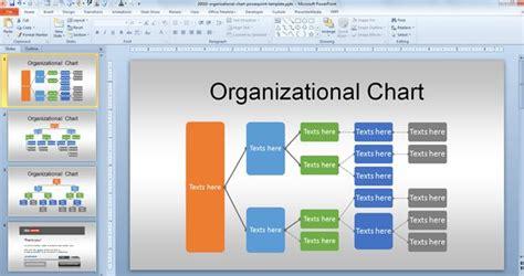 org chart powerpoint template