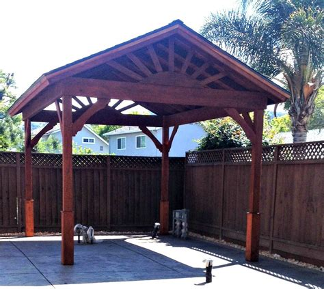 Gazebo Roofs Gazebo With Gable Roof Built In 3 Days How To Build A