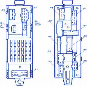 Mazda 323 1990 Main Fuse Box  Block Circuit Breaker Diagram