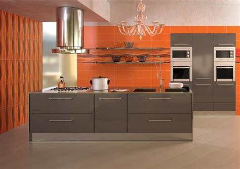 cuisine couleur orange cuisine orange la couleur tonifiante et vive