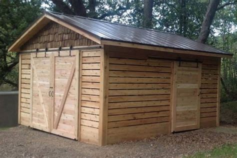 cedar shed  barn doors cedar direct
