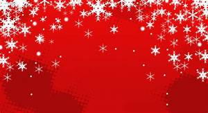 Red Snow Christmas Background – Festival Collections