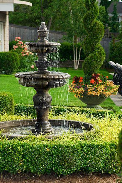 garden fountains garden design backyard water fountains garden water fountains