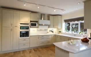 shaker kitchen ideas painted oak shaker kitchen ropley hshire